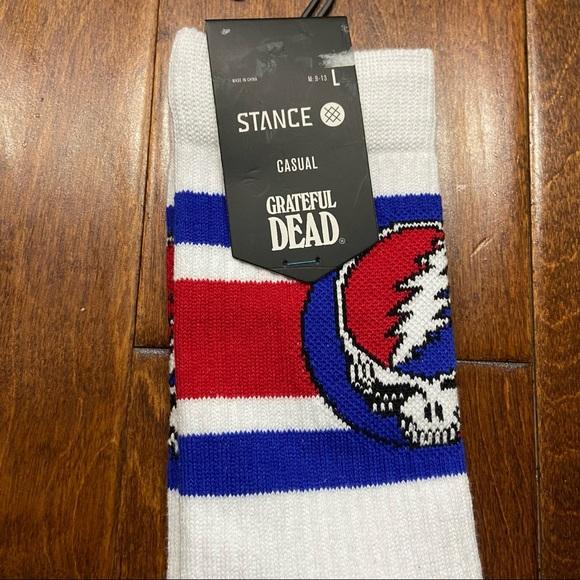 Grateful Dead Casual Stance Socks Size Large